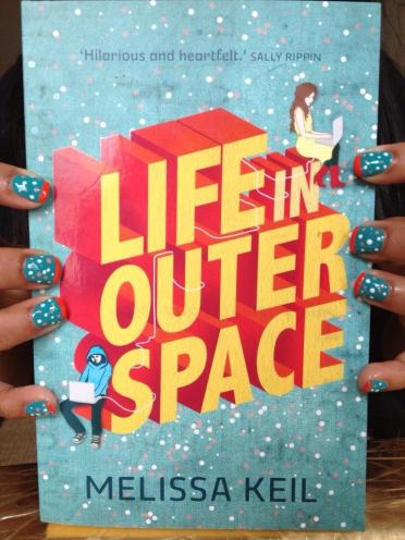 Launch party nail art, inspired by the beautiful Steph Spartels cover design